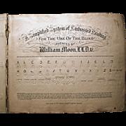 William Moon Braille Book C1850
