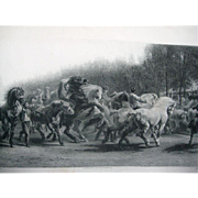 Rosa Bonheur, 'The Horse Fair', 1887