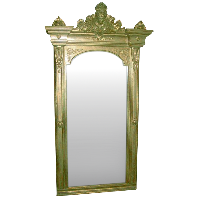 Large Ornate Victorian Mirror From Hopibooks On Ruby Lane