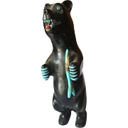 Vintage Zuni Black Bear Fetish