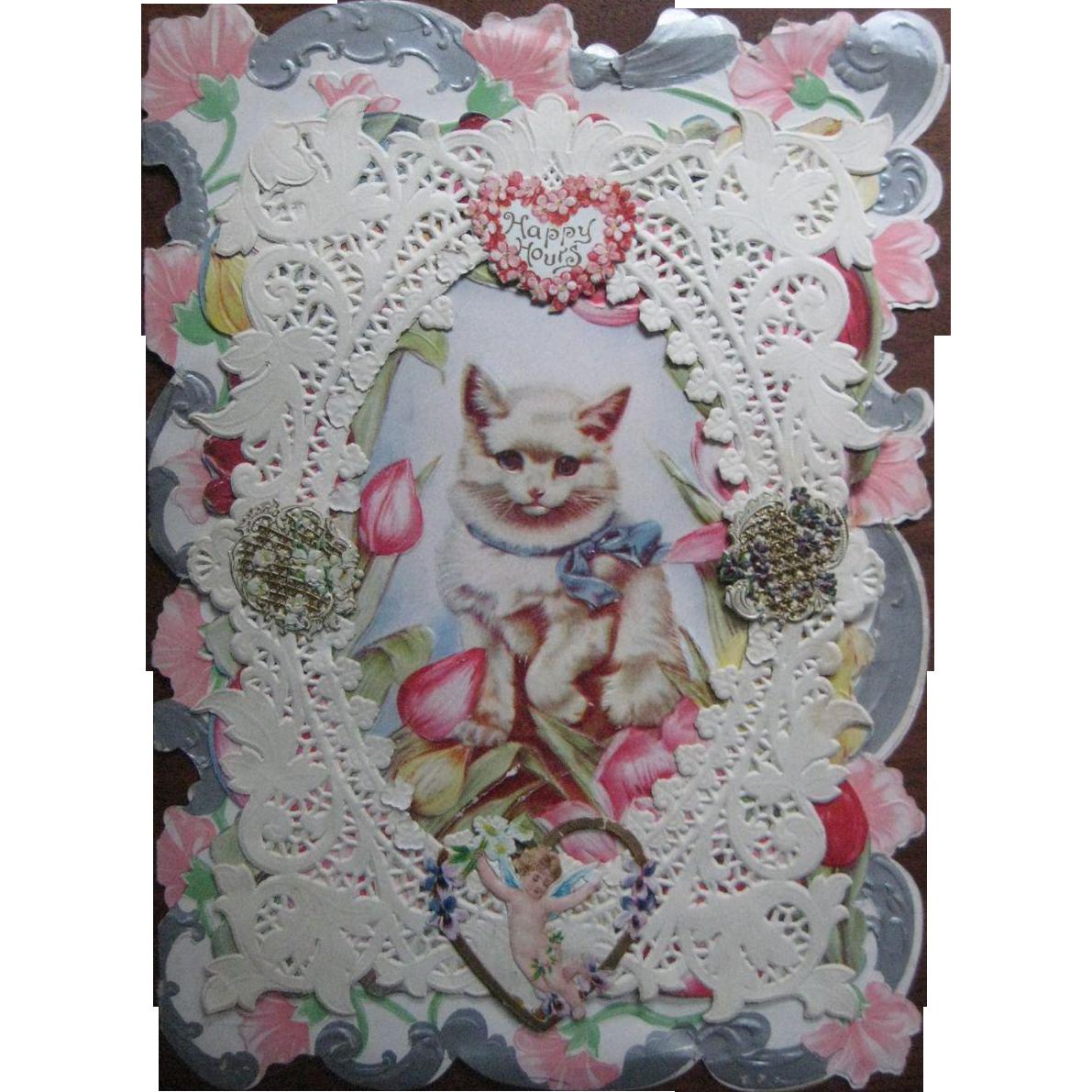 Cat Valentine's Day card