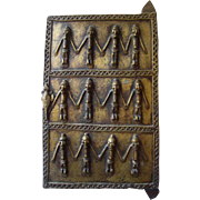 Small Bronze Dogon door