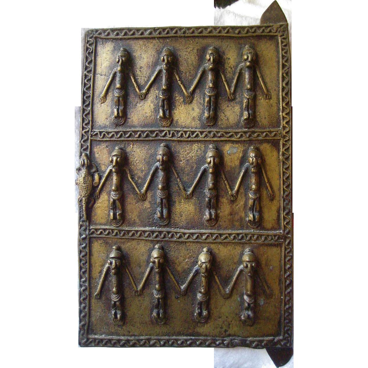 Small Bronze Dogon door