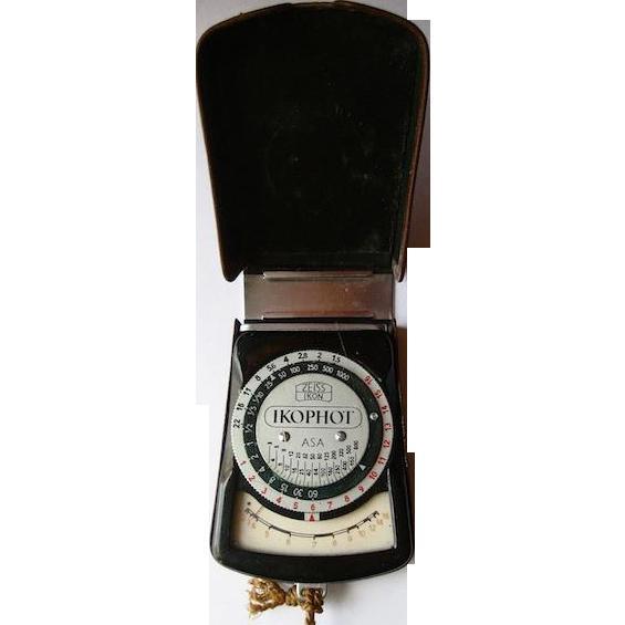 Zeiss-Ikon Ikophot IIA Light Meter