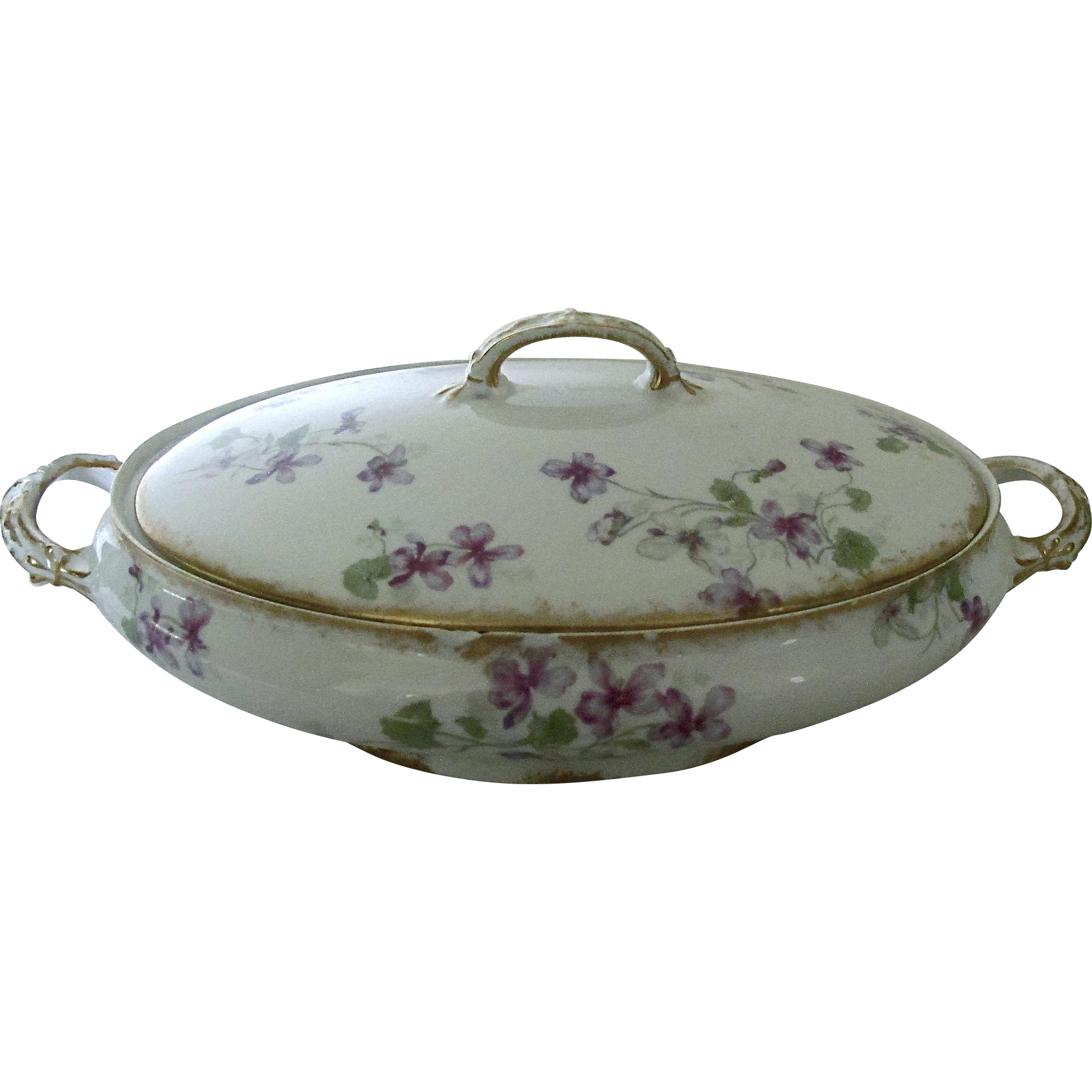 Charles Field Havilland Limoges Vegetable Tureen