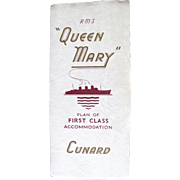 Cunard: R.M.S. Queen Mary, 1956