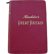 Baedeker; Great Britain, 1906