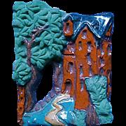 Vintage Moravian Tile