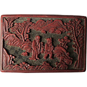 Old Cinnabar Box