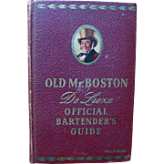 Old Mr. Boston De Luxe Official Bartender's Guide, 1941