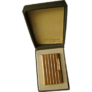 Genuine 1970s, 20 Micron, Gold Plated, S. T. DuPont Lighter