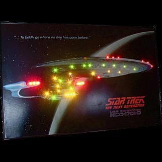 Star Trek Poster - lights up