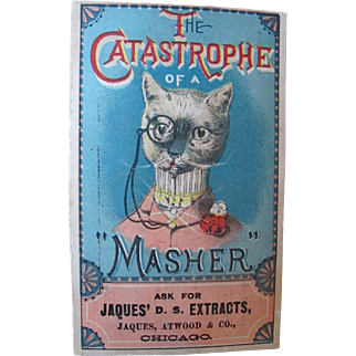 Fabulous Cat Trade Card