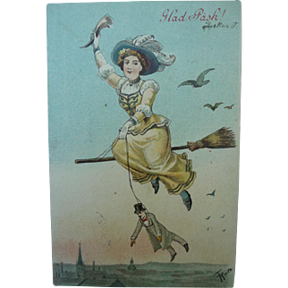 Magical Vintage Postcard