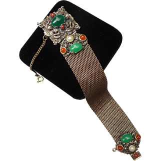 Fantastic Vintage Austro Hungarian Inspired Bracelet