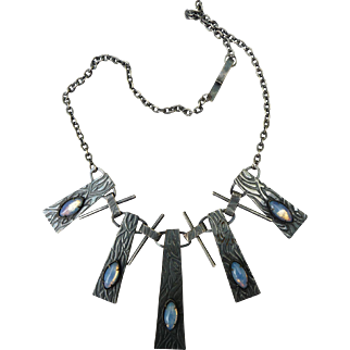Vintage Arts and Craft Inspired Necklace
