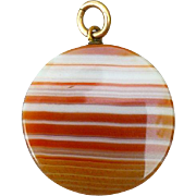 Lovely Vintage Agate Pendant