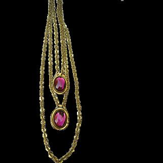 Amazing Vintage Rafael Necklace