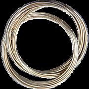 Silpada Sterling Silver 21 bangle Bracelet