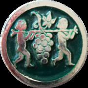 Large Vintage Artia Button