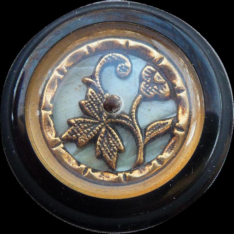Art Deco Large Vintage Button