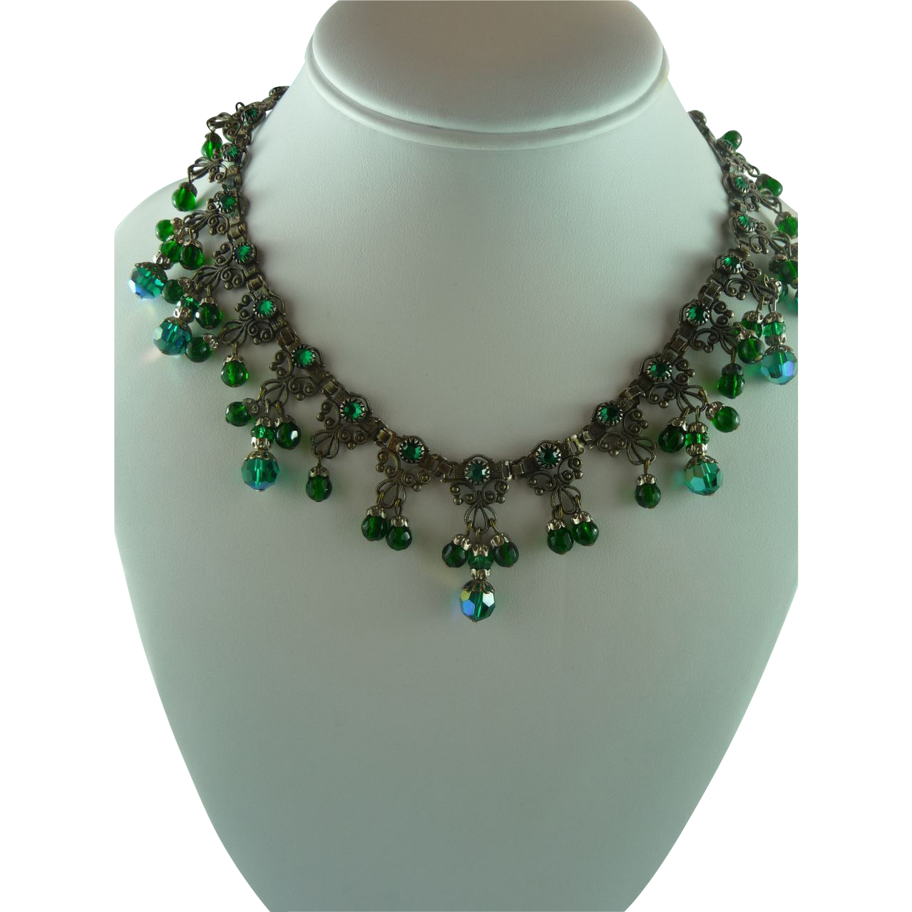 Exquisite Etruscan Revival Necklace