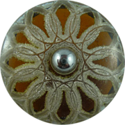 Lacey Lucite Layered Vintage Button