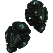 French Earrings by Henry Perchon