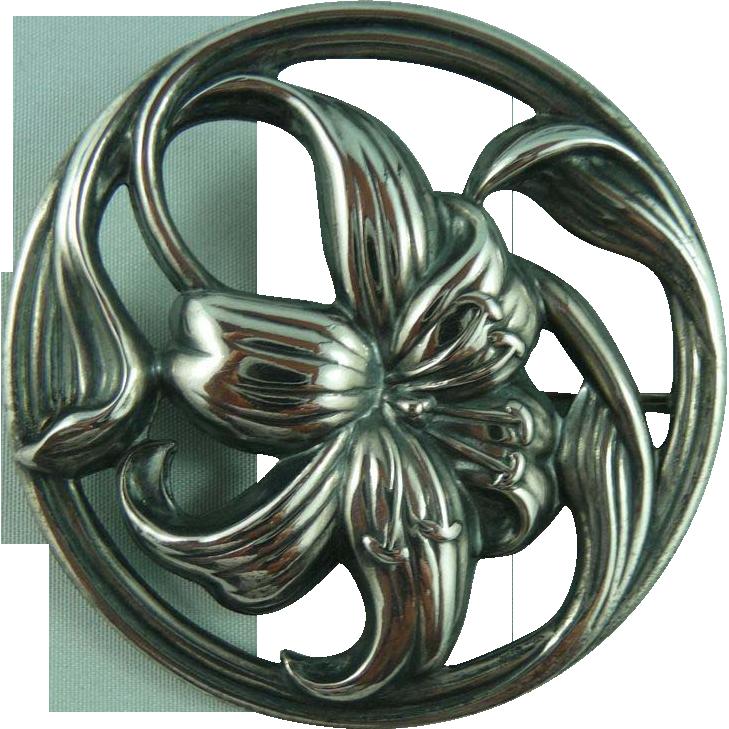 Nouveau Style Danecraft Sterling Pin