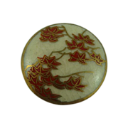 Japanese Maple Satsuma Button