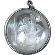Intaglio St. Christopher's Metal