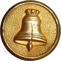 Vintage Liberty Bell Button