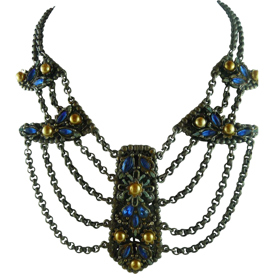 Alexander Korda Thief of Bagdad Necklace
