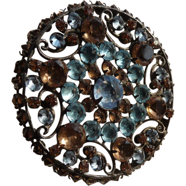 Beautiful Vintage Rhinestone Pin