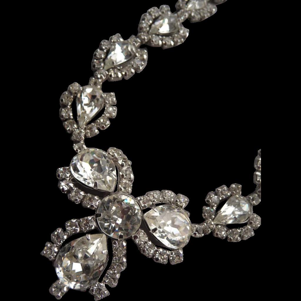 Stunning Vintage Sterling Jay Flex Necklace.