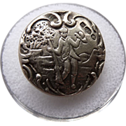 Antique Sterling Button