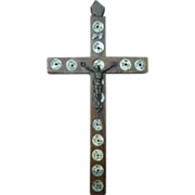 Vintage Olive Wood Cross