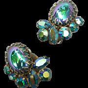 Fabulous Vintage Sherman earrings