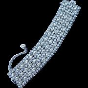 Elegant Signed Sherman Bracelet