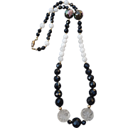 Beautiful Vintage Beaded Necklace