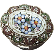Beautiful Micro Mosaic Pill Container