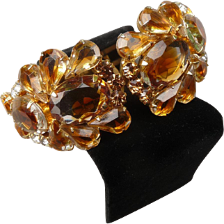 Beautiful Vintage Juliana Clamper Bracelet