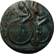 Charming Vintage Bicycle Button