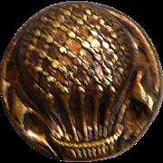 Special Vintage Hot Air Balloon Button