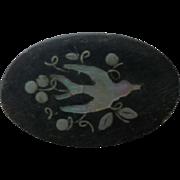 Beautiful Vintage Composite Bird Button
