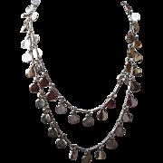 Silver Vintage Vendome Necklace