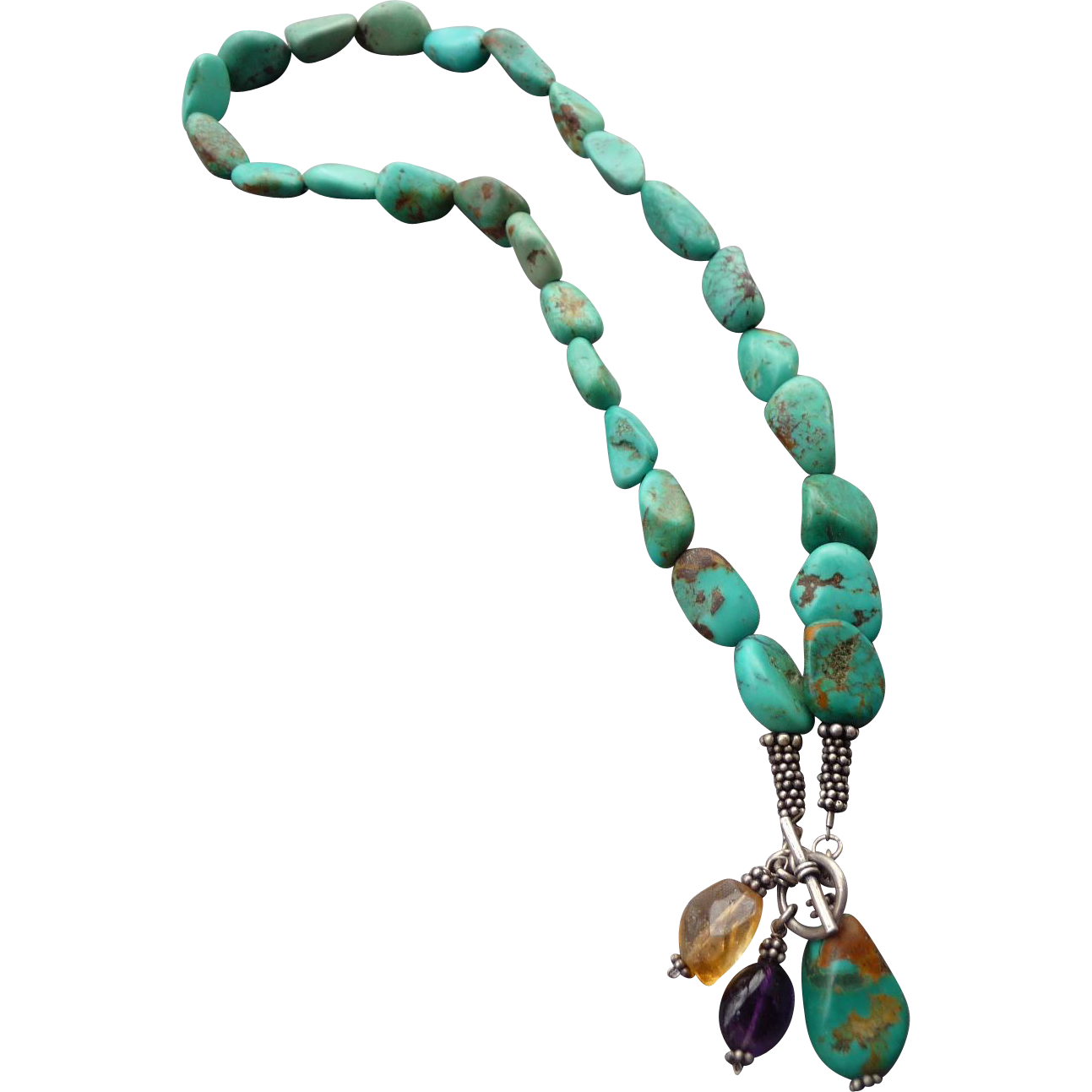 Lovely Vintage Turquoise Necklace