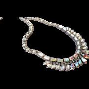 Lovely Vintage Signed Sherman Necklace