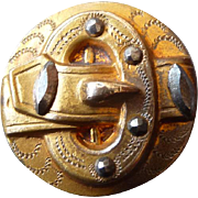 Early Vintage Buckle Button