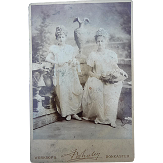 Old Cabinet Photographic Postcard